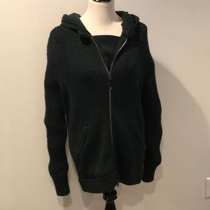 Lululemon Sweater Hoodie Wool Chunky Ribbed Knit